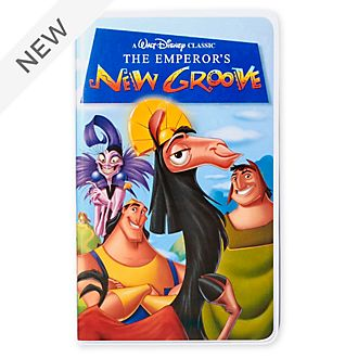Disney Store The Emperors New Groove VHS Journal