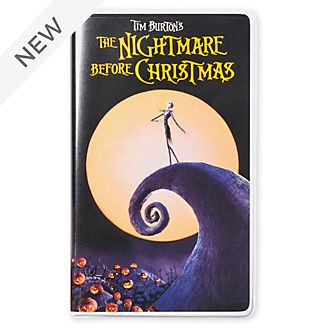 Disney Store The Nightmare Before Christmas VHS Journal