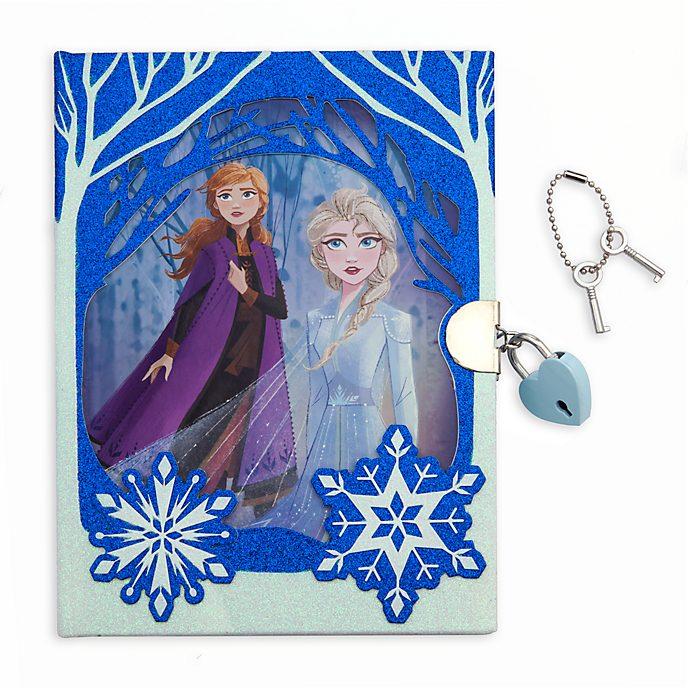 Diario Frozen 2, Disney Store
