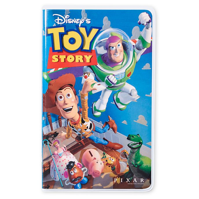 Disney Store Toy Story VHS Journal