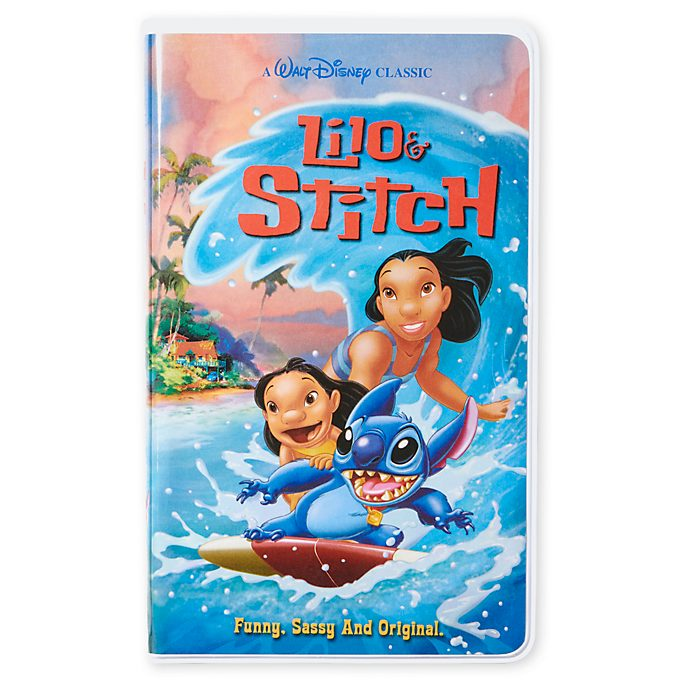Disney Store Lilo and Stitch VHS Journal