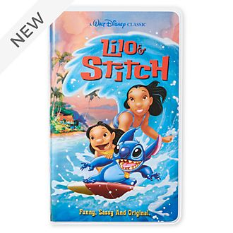 Disney Store Lilo and Stitch VHS Journal