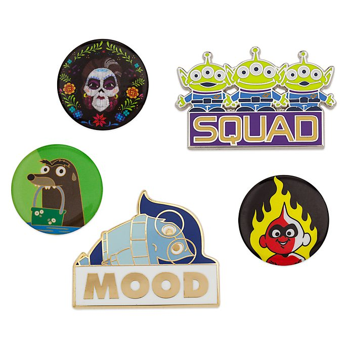 Disney Store Disney Pixar Oh My Disney Pin Set