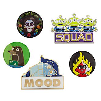 Set di pin Disney Pixar Oh my Disney, Disney Store