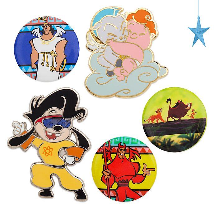 Set di pin anni '90 Oh My Disney, Disney Store