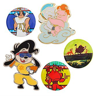 Set di pin anni '90 Oh My Disney, Disney Store