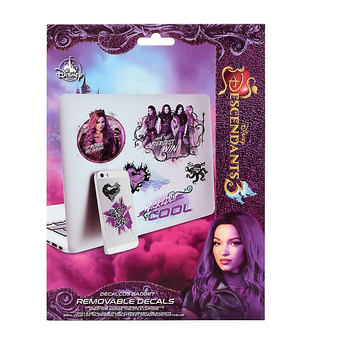 Disney Store Disney Descendants 3 Removable Gadget Decals