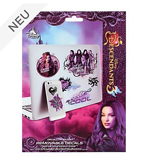 Disney Store - Disney Descendants3 - Ablösbare Aufkleber für Gadgets
