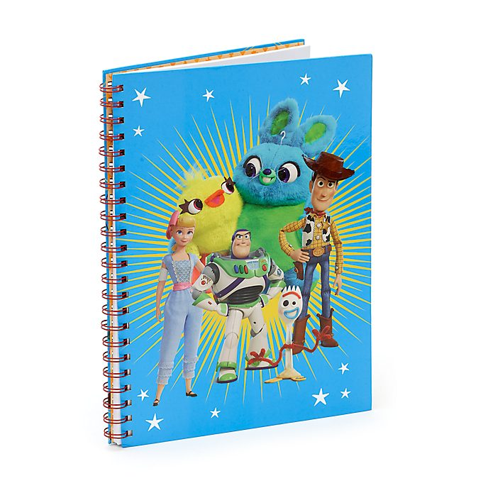 Disney Store Toy Story 4 A4 Notebook