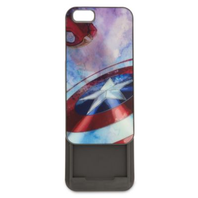 Custodia a clip per cellulare Capitan America Civil War