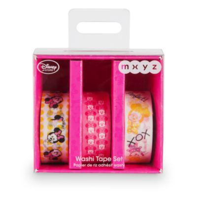 Nastro adesivo decorativo washi di Minni MXYZ, set di 3