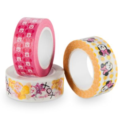Minnie Mouse MXYZ Washi Tape, Set of 3