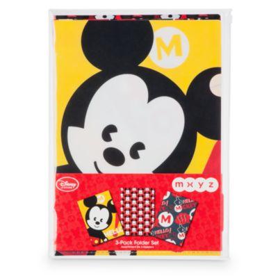 Juego de 3 carpetas MXYZ Mickey Mouse