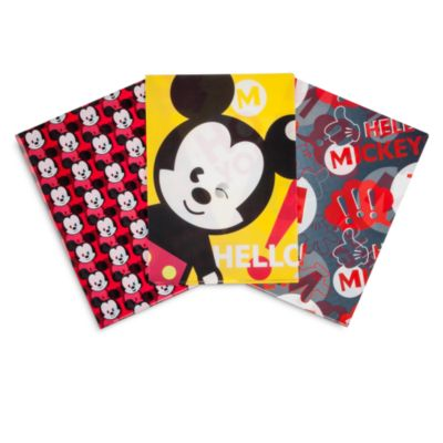 Mickey Mouse MXYZ Folder, Set of 3