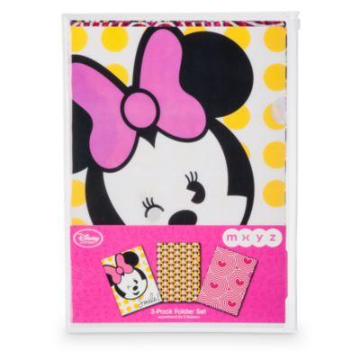 Minnie Mouse MXYZ chartek, sæt med 3 stk.