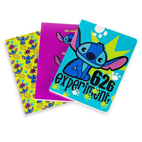 Stitch MXYZ notesbøger, sæt med 3 stk.