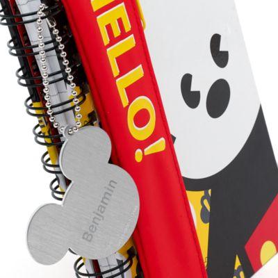 Mickey Mouse MXYZ notesbog med penalhus