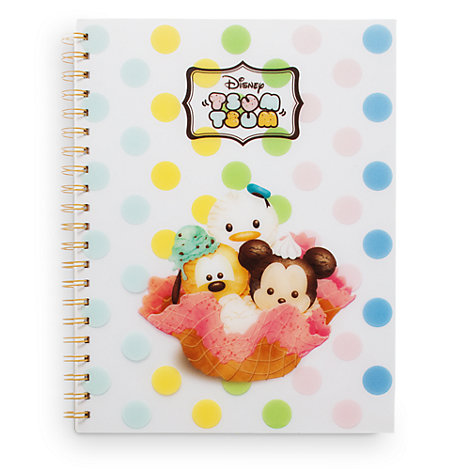 Tsum Tsum Ice Cream A4 Notebook