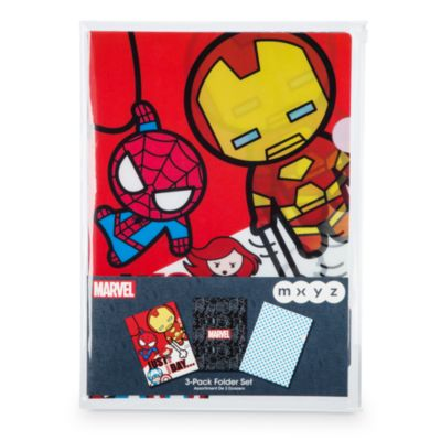 Marvel MXYZ mapp, set med 3