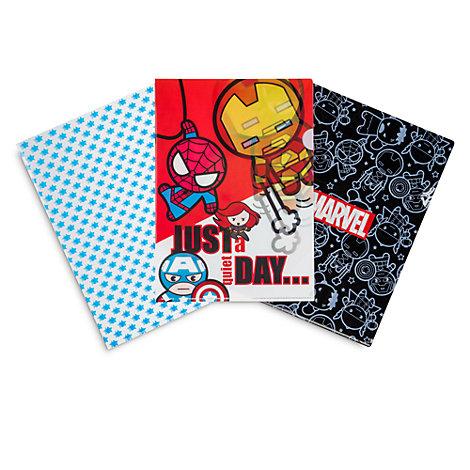 Raccoglitori Marvel MXYZ, set di 3