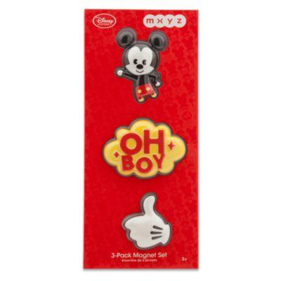 Imanes 3D MXYZ Mickey Mouse, set de 3