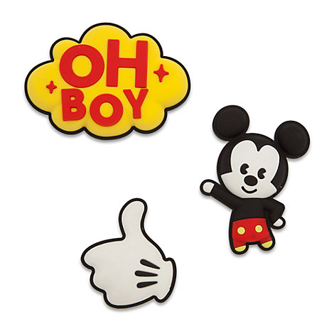 Mickey Mouse MXYZ 3D-magneter, sæt med 3 stk.