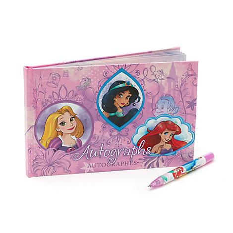 Carnet d'autographes Princesses Disney