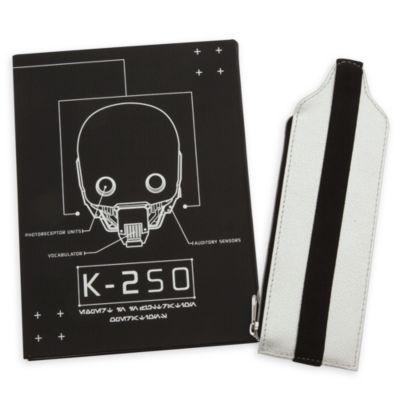 Cuaderno A5 y estuche lápices K-2SO, Rogue One: Una historia de Star Wars