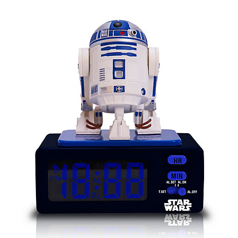 R2-D2 Alarm Clock, Star Wars