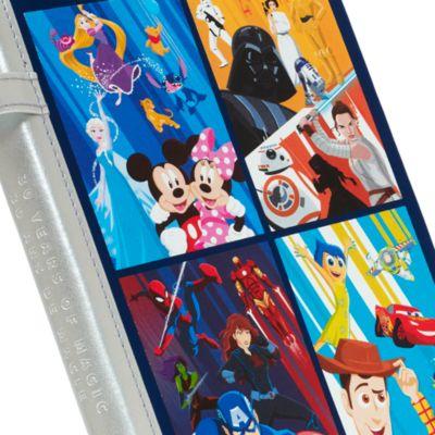 Quaderno e penna 30° Anniversario Disney Store