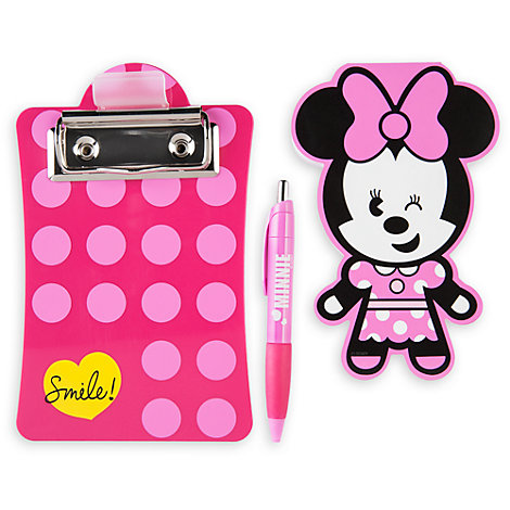 Minnie Mouse MXYZ Clipboard And Notepad Set
