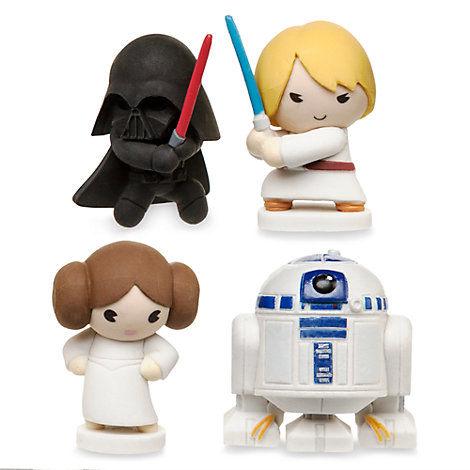 Star Wars MXYZ Mini Eraser Set