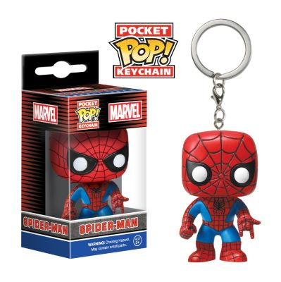 Spider-Man Pop! Vinyl Key Ring