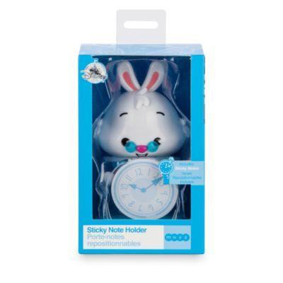 Soporte para notas adhesivas del Conejo Blanco de Alicia en el País de las Maravillas, colección MXYZ