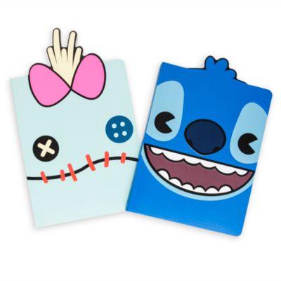 Stitch and Scrump MXYZ Journals, Pack of 2