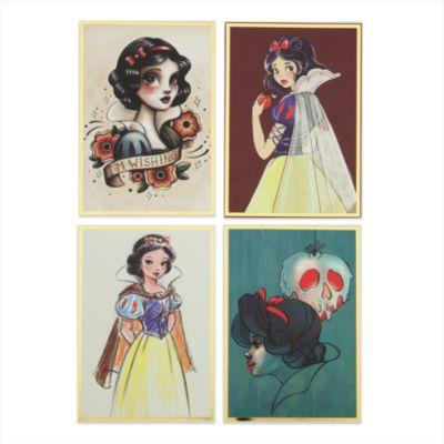 Juego de escritura de cartas Art of Snow White
