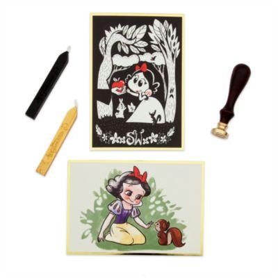 Ensemble de cartes de correspondance, collection Art of Snow White