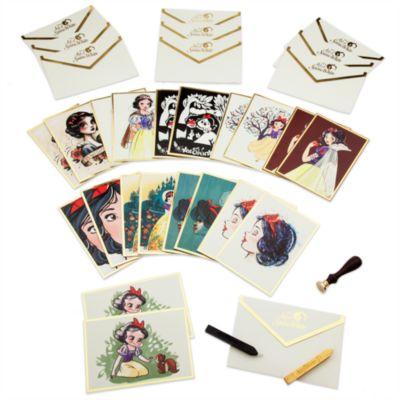 Art of Snow White brevpapirsæt