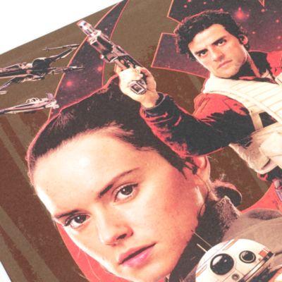 Star Wars: Die letzten Jedi - Beleuchtetes A5-Notizbuch