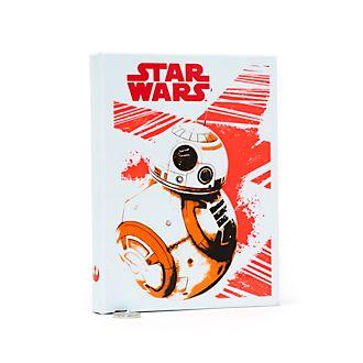 Diario con luz Star Wars: Los Últimos Jedi, tamaño A5