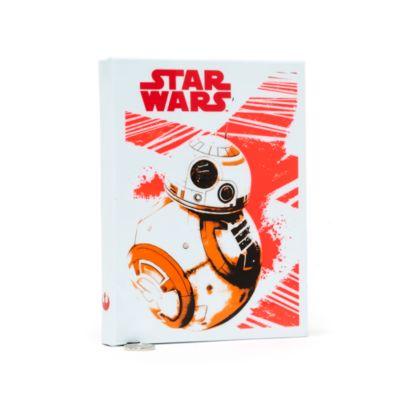 Diario luminoso in formato A5 Star Wars: Gli Ultimi Jedi