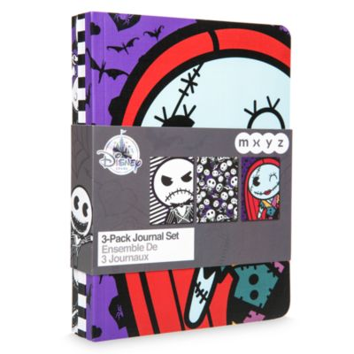 The Nightmare Before Christmas Set of 3 Journals