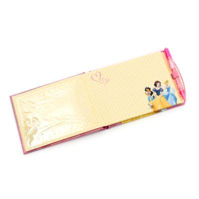 Carnet d'autographes avec stylo Disney Princesses