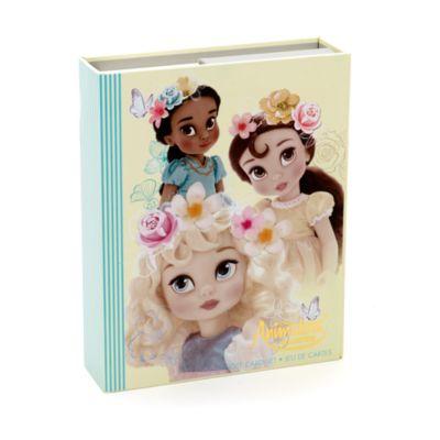 Ensemble de cartes et enveloppes, collection Disney Animators