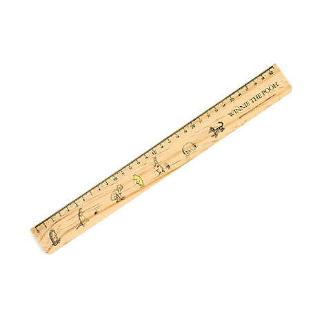 Winnie the Pooh Wooden Ruler