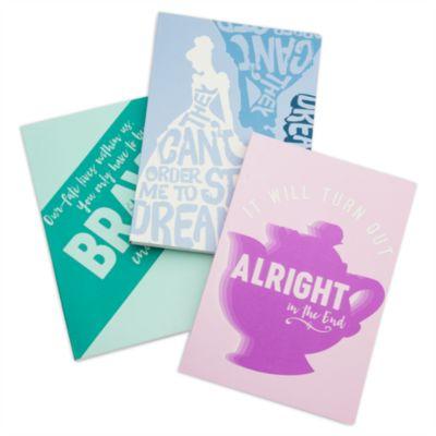 Oh My Disney Notebooks, Set of 3