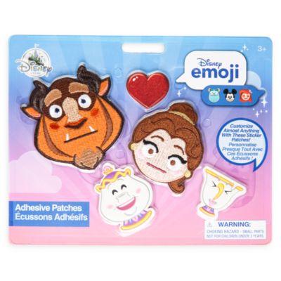 Écussons autocollants La Belle et la Bête, Disney emoji