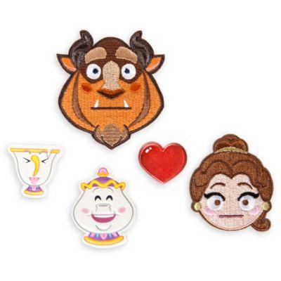 Parches adhesivos La Bella y la Bestia Disney Emoji