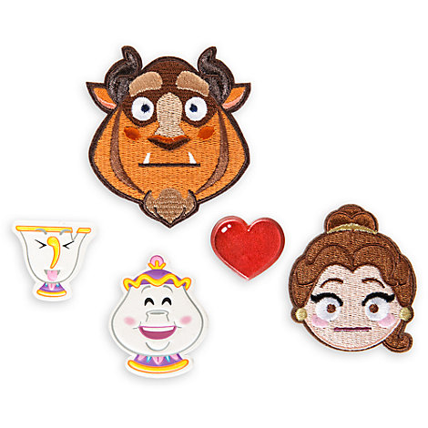 Disney Emoji Beauty and the Beast Adhesive Patches