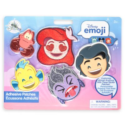 Toppe adesive La Sirenetta Disney Emoji